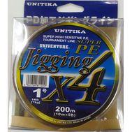 Купить Шнур Unitika Super PE Jigging X4 200m #1.0 / 7kg в Минске, Беларуси! Топовая цена, скидки, доставка. Rybalkashop.by