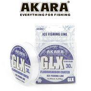 Купить Леска Akara GLX ICE Clear 30 м в Минске, Беларуси! Топовая цена, скидки, доставка. Rybalkashop.by